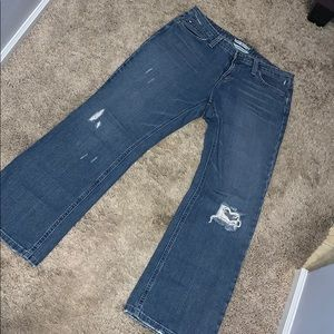 Tommy Hilfiger vintage low rise boot cut jeans